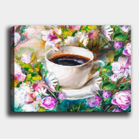 Картина Flowers and Coffee 40x60